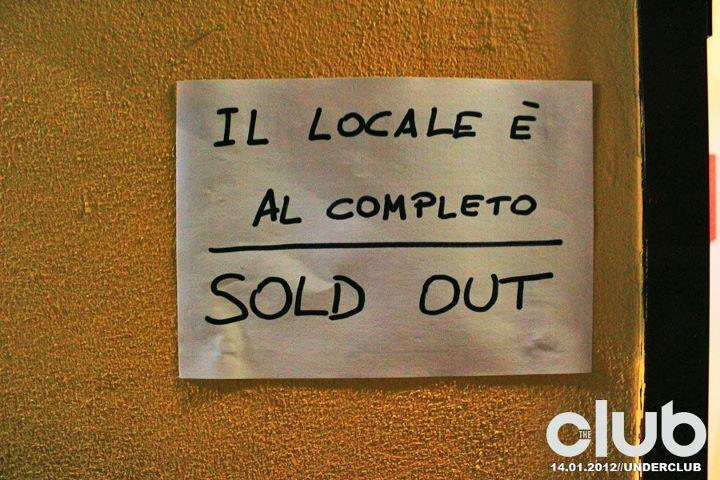 The Club Pordenone, festa di apertura 2012