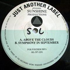 Sunshine Productions - Above the Clouds - Just another Label copertina