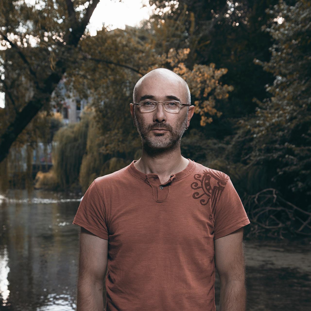 Lorenzo Bianchini, regista horror - foto di Alessandro Venier
