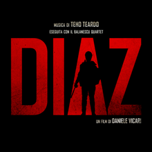 Diaz album cover Teho Teardo