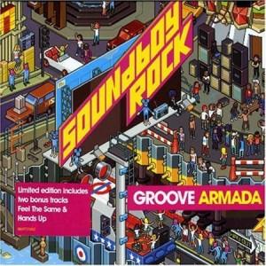 Groove Armada Soundboy Rock album copertina