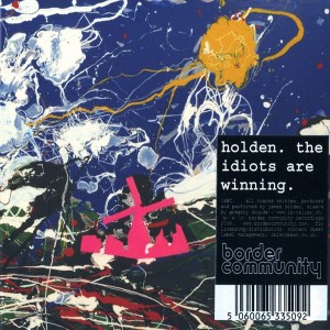 James Holden The Idiots are Winning copertina