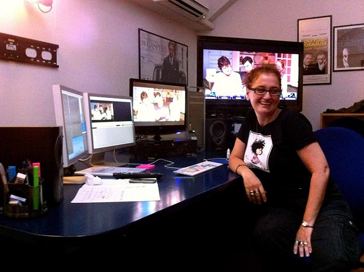 Luciana Pandolfelli montaggio di Com'è bello far l'amore 3D