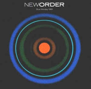 New Order Blue Monday Single 1988 cover